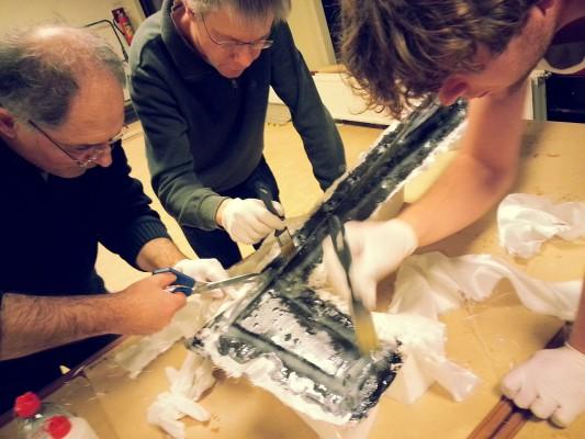 bouwen van een glasvezel zwever